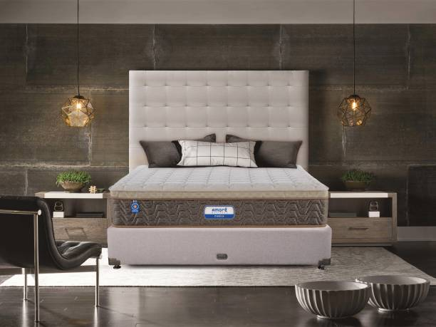 Amore International Medico Eurotop 6 inch King Bonnell Spring Mattress