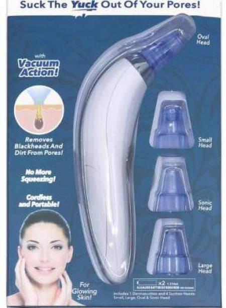SJ ENTERPRISE Plastic Blackhead Remover Vacuum Suction Device