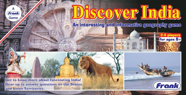 Frank Discover India Board Game Party & Fun Games Board Game