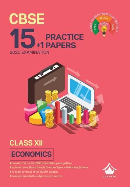 15+1 Practice Papers - Economics: CBSE Class 12 for 2021 Examination