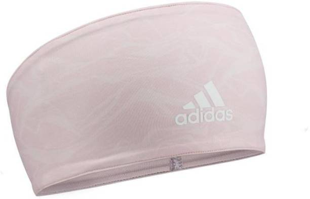 ADIDAS Head Band - Clear Orange Graphic Fitness Band