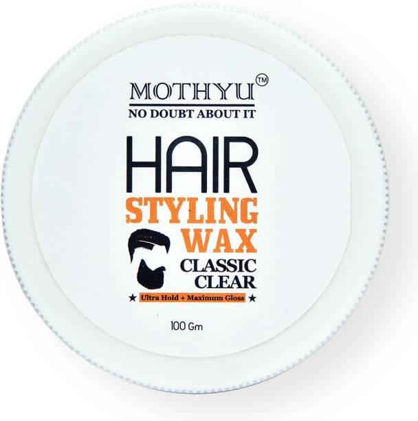 MOTHYU Hair Wax- Strong Hold with Ultra Gloss Hair Wax