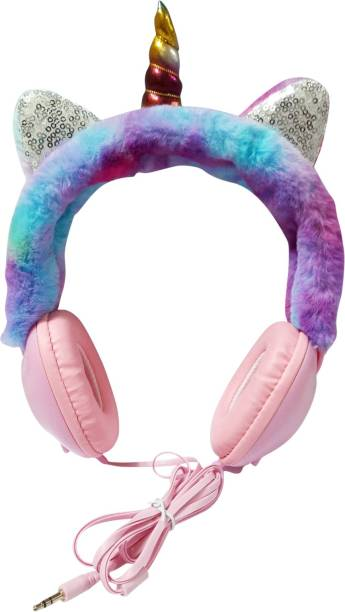 ONOTIC Ear Shape Over The Ear 3.5mm for Kids Wired without Mic Headset