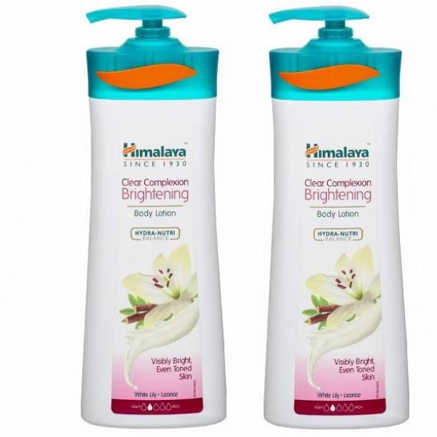 Himalaya Herbals Clear Complexion Brightening Body Lotion 400ml ( Pack of 2 )