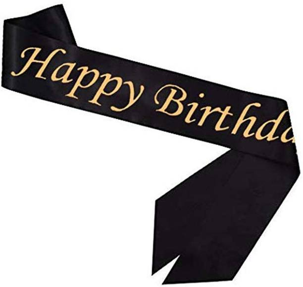 Party Propz Happy Birthday Glitter Sash for Girls