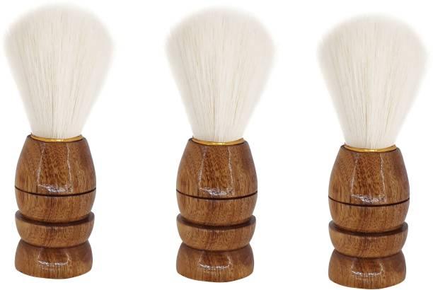 Angel Infinite Combo Soft Hair Brush For Men  Shaving Brush
