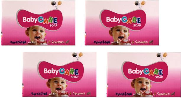 ZEE DRUGS Baby Care Soap Fortified with Almond & Coconut Oil