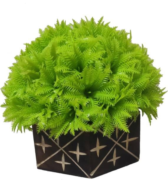 BK Mart Beautiful Table Flower Bonsai Wild Artificial Plant  with Pot