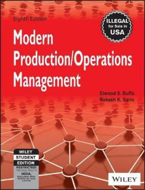 Modern Production / Operations Management