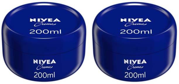 NIVEA Cream Pack of 2 ( 200 Ml Each )