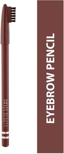 SWISS BEAUTY EYEBROW PENCIL SB-1202 104-Light-Brown