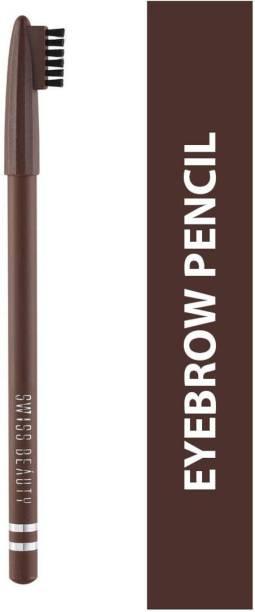 SWISS BEAUTY EYEBROW PENCIL 1202 102-Dark-Brown