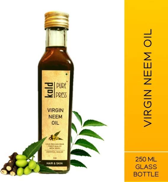 KOLD PURE PRESS Virgin Neem Oil Hair Oil