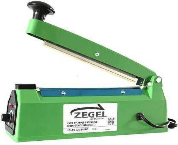Zegel 8 Inch 200 MM Hand Sealing Machine For Plastic Packaging Table Top Heat Sealer Table Top Heat Sealer