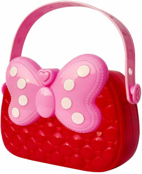 Webby Musical Hand Bag Toy with Light, Pink