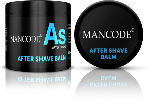 MANCODE AfterShave Balm,100gm, Revitalizes & Refreshes the Skin, Calms Redness or Irritation caused by Shaving, Suitable All Skin Tye.