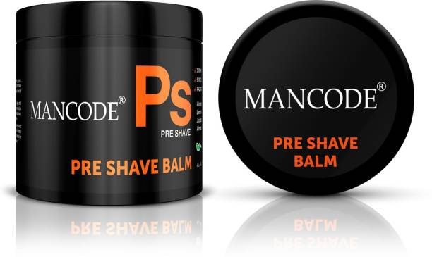 MANCODE Pre-Shave Balm,100gm, Its Helps In Skin Moisturizing, Skin Conditioning, and Eazor-Burn Free Shave, Formulated with Unique Blend of Botanical Ingrediants & Essential Oils. Moisturizes & Conditions the Skin. Sulphate Free, Paraben Free