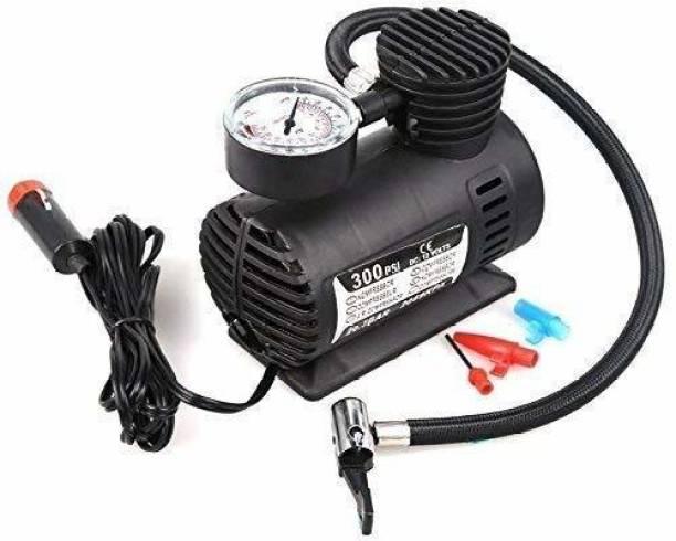 SP WORLD 140 psi Tyre Air Pump for Car & Bike