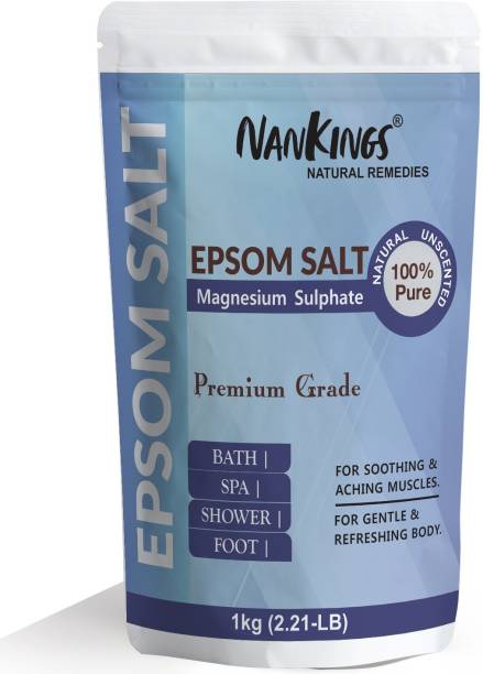 nankings Epsom Bath Salt For Muscle Relief, Relieves Aches, Bath, Foot & Refreshing Body
