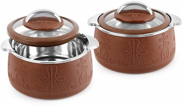 cello Royale Pack of 2 Thermoware Casserole Set