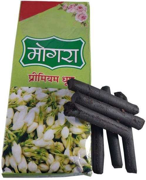 Uniqon (Pack Of 1) Mogra/Jasmine Scented Premium Incense Sticks Dhoop batti for Worship/pooja,Mediation,Spritual Purpose Jasmine Dhoop