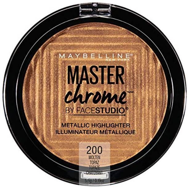 MAYBELLINE NEW YORK Chrome Metallic Highlighter Makeup Highlighter
