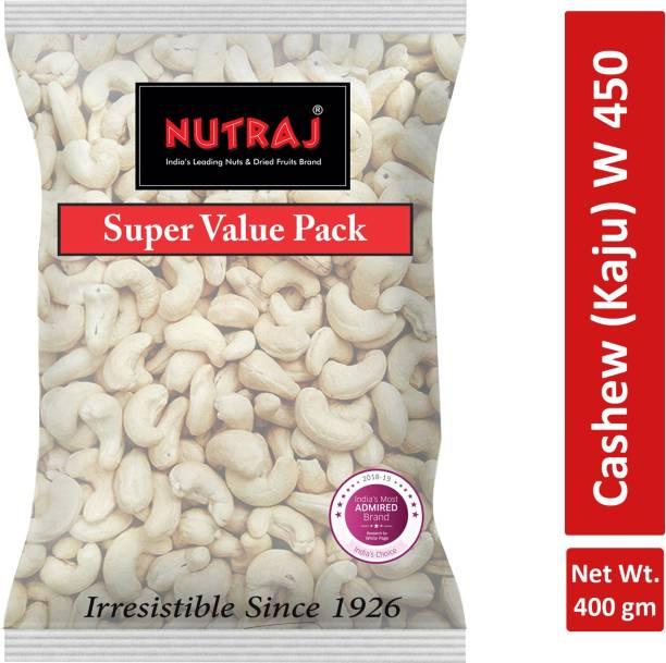 Nutraj Cashew Nuts (Kaju) W450 Cashews