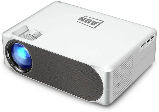 AUN AKEY 6S ANDROID 1080P Full HD LED Home Theater Smart Projector High Brightness, WiFi, Bluetooth, Miracast Portable Projector