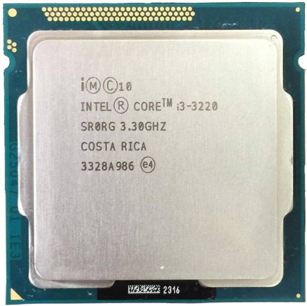 Intel 3rd Generation Core i3 3220 3.3 GHz LGA 1155 Socket 2 Cores Desktop Processor
