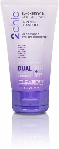 Giovanni 2Chic Blackberry & Coconut Milk Shampoo, Travel Size 1.5 Oz by Cosmetics