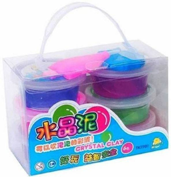 Glity Kidz Rahbani Collection 1Pcs Crystal Slime Jel