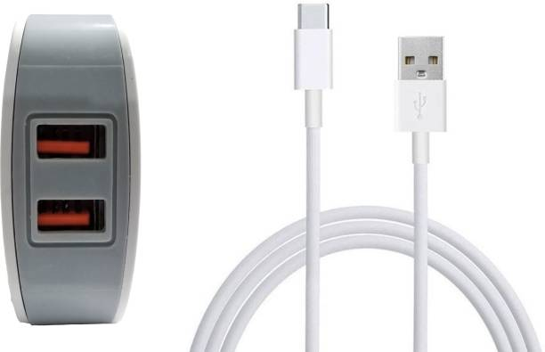 CASVO Premium Quality Fast Charging,Fast Data Transfer 3 W 3 A Multiport Mobile Charger with Detachable Cable