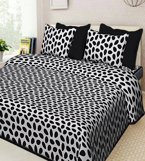 MODERN MARWAD 600 TC Cotton King Jaipuri Prints Bedsheet