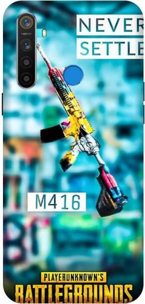 MD CASES ZONE Back Cover for Realme 5 Pubg Mobile M416 Gun, Realme 5s Pubg Mobile M416 Gun, Realme 5i Pubg Mobile M416 Gun