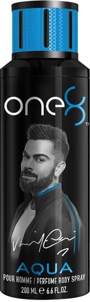 one8 by Virat Kohli Aqua Perfume Body Spray 200 ml-Men Perfume Body Spray  -  For Men