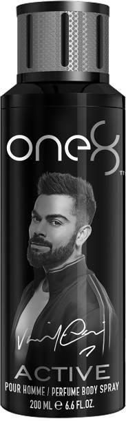 one8 by Virat Kohli Active Perfume Body Spray 200 ml-Men Perfume Body Spray  -  For Men