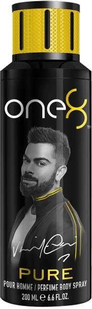 one8 by Virat Kohli Pure Perfume Body Spray 200 ml-Men Perfume Body Spray  -  For Men