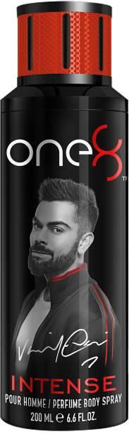 one8 by Virat Kohli Intense Perfume Body Spray 200 ml-Men Perfume Body Spray  -  For Men
