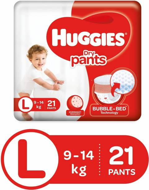 Huggies Dry Pants Diapers - L