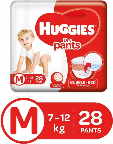Huggies Dry Pants Diapers - M