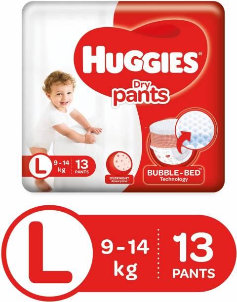Huggies Dry Pants Diapers - L