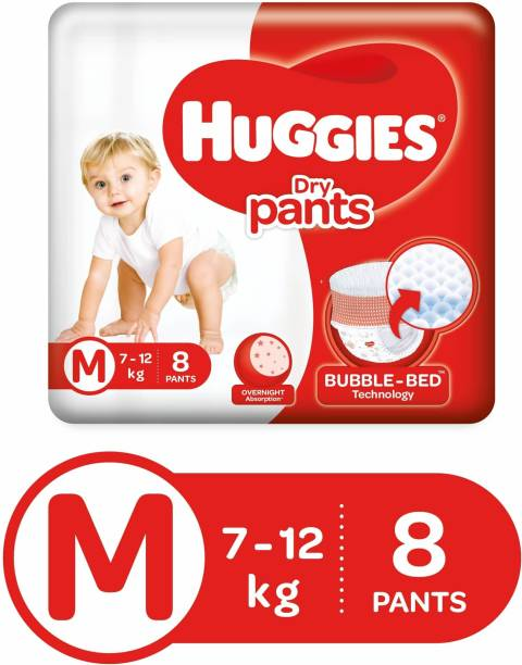 Huggies Dry Pants Diapers - M