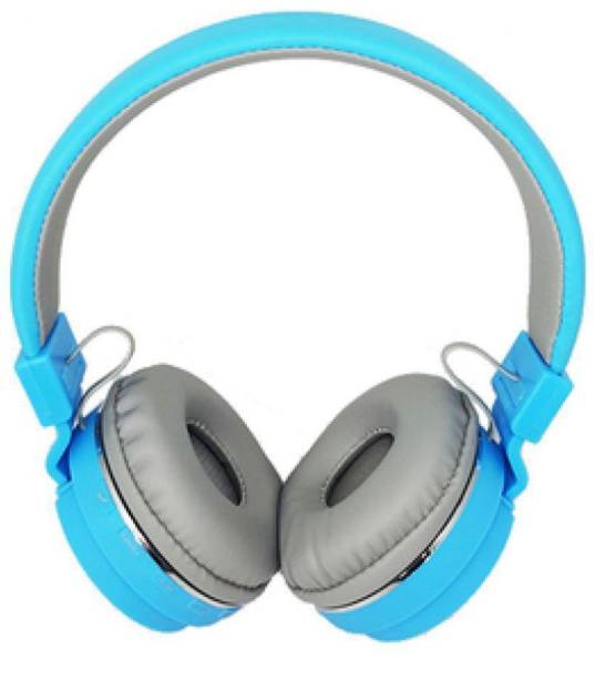 blue seed Wireless Headphone SH-12 with Tf card support function Bluetooth Headset