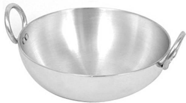 STEPHY Stainless Aluminium Kadhai Kadhai 25 cm