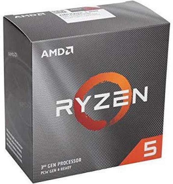 amd Ryzen 5 3500 with Wraith Stealth Cooler (100-100000050BOX) 3.6 Ghz Upto 4.1 GHz AM4 Socket 6 Cores 6 Threads 3 MB L2 16 MB L3 Desktop Processor