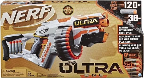 Nerf Ultra One Motorized Blaster, 25 Darts, Farthest Flying Darts Ever Guns & Darts