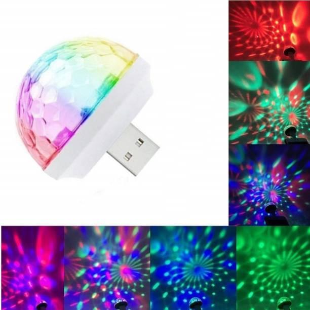M MOD CON USB Party Lights LED Small Magic Disco Ball Sound Control DJ Stage Light Colorful Strobe RGB Lamp Led Light