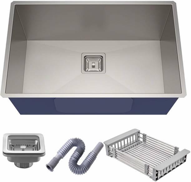 Mapson Handmade 24x18x10 Kitchen Wash Basin Sink With Accessories sink set Vessel Sink
