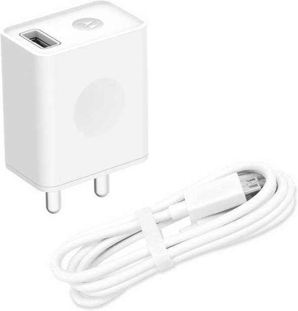 MOTOROLA USB Rapid Charger with Micro-USB Data Cable Fast charging 10 W 2 A Mobile Charger with Detachable Cable