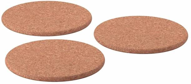 IKEA Round Cork Coaster Set